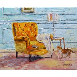 Room with a Yellow Chair...